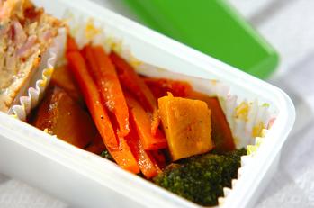 野菜のオリーブ油蒸し