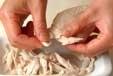 キュウリの梅和えの作り方1