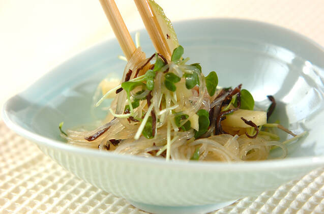 春雨と鶏肉の中華サラダの作り方の手順8