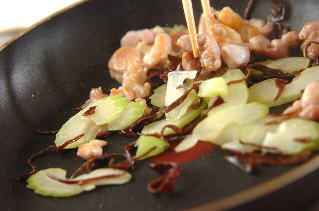 春雨と鶏肉の中華サラダの作り方の手順7