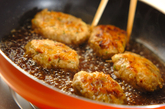 ゴボウ入り鶏つくねの作り方3
