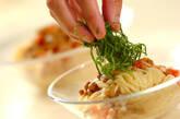 納豆と塩トマトの冷製カッペリーニの作り方3