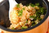 アサリとキムチの炊き込みご飯の作り方2