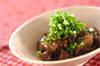 鶏レバーの黒酢煮の作り方の手順