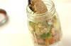 チキンとアボカドのヨーグルトジャーサラダの作り方の手順6