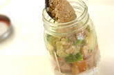 チキンとアボカドのヨーグルトジャーサラダの作り方6