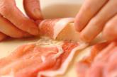 タケノコの豚肉巻き天ぷらの作り方2