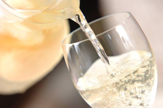 ピーチ入りワインの作り方の手順4