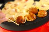 ホットケーキミックス生地のタコ焼きの作り方3