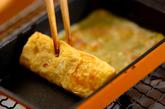 ベーコン卵焼きの作り方3