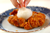 チキンカツおろしダレの作り方3
