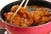 チキンカツおろしダレの作り方2