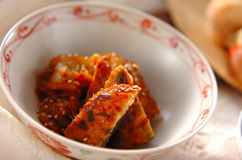 飛竜頭のキムチ煮