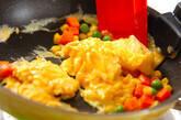 ふんわりベジタブル卵焼きの作り方2
