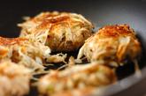 鮭ゴボウのつくね焼きの作り方2