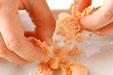 タラコ混ぜご飯の下準備2