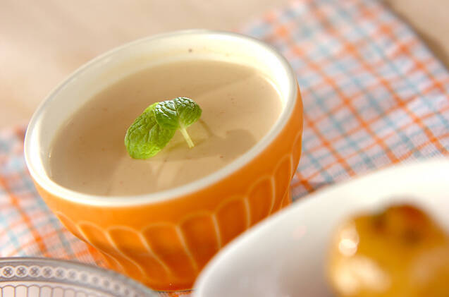 紅茶のパンナコッタ