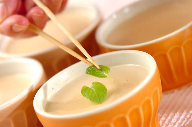 紅茶のパンナコッタの作り方の手順4