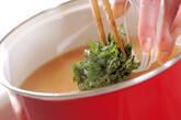 納豆とエノキのみそ汁の作り方4
