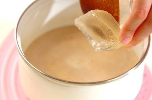白ゴマプリンの作り方の手順3