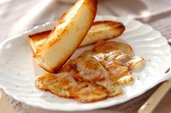 ハムとチーズのポテト焼き