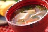 くずし豆腐汁