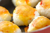 焼きチーズにぎりの作り方2