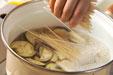 素麺のみそ汁の作り方2