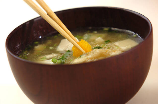 豆腐と油揚げのみぞれ汁の作り方の手順5
