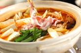 みそキムチ鍋の作り方2
