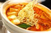 みそキムチ鍋の作り方10