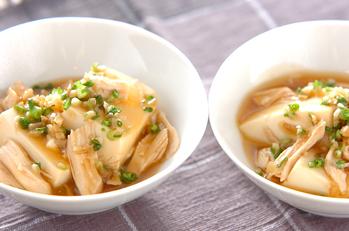 中華風とろみ豆腐