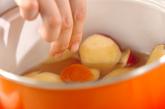 サツマイモのパイン煮の作り方2