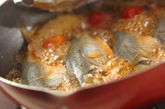 アジの梅ショウガ煮の作り方3
