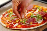 お手軽ピザの作り方5