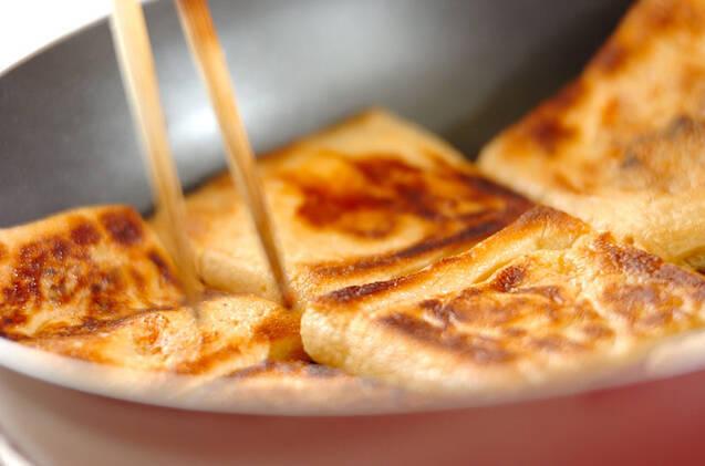 チーズ入り油揚げの作り方の手順3