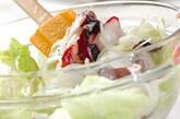 新玉ネギのサラダの作り方7