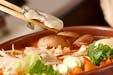 カキのキムチ鍋の作り方3