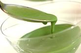 和風抹茶ミルクプリンの作り方3