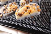 焼き豆餅のお茶漬けの作り方1