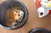 焼き豆餅のお茶漬け
