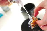 焼き豆餅のお茶漬けの作り方2