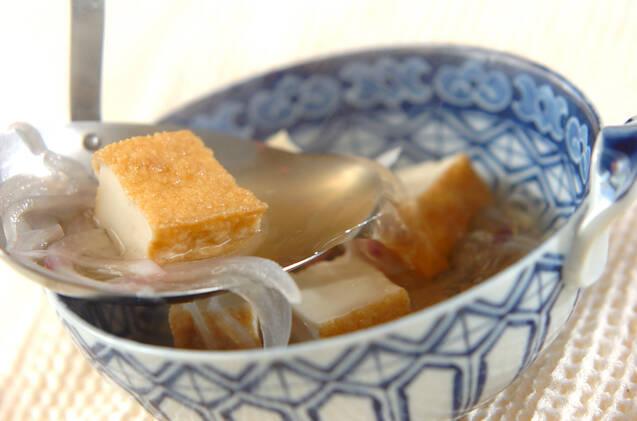 厚揚げのエスニックスープの作り方の手順4