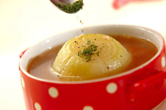 血液サラサラ!丸ごと玉ネギのスープの作り方の手順4