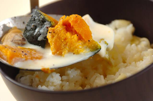 シーフードミルクスープごはんの作り方の手順3