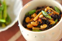 定番大豆の煮物