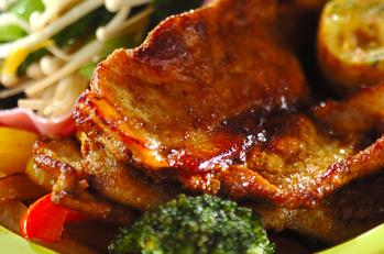 豚肉のカレー粉焼き