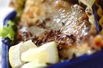 白身魚のクミン焼き