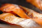 サケの照り焼きの作り方2