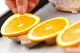 ポークソテー・フルーツ焼きの作り方2